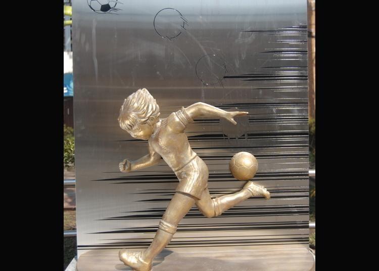 第3名:足球小将翼・大空翼铜像