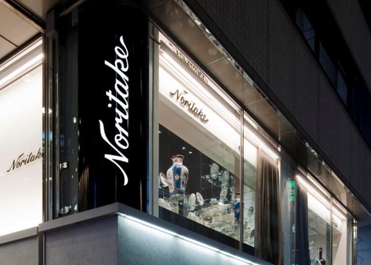 第2位:ノリタケ・大倉陶園 銀座店