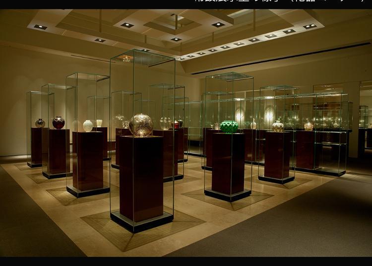第5名:箱根拉利克美術館(Lalique Museum, Hakone)