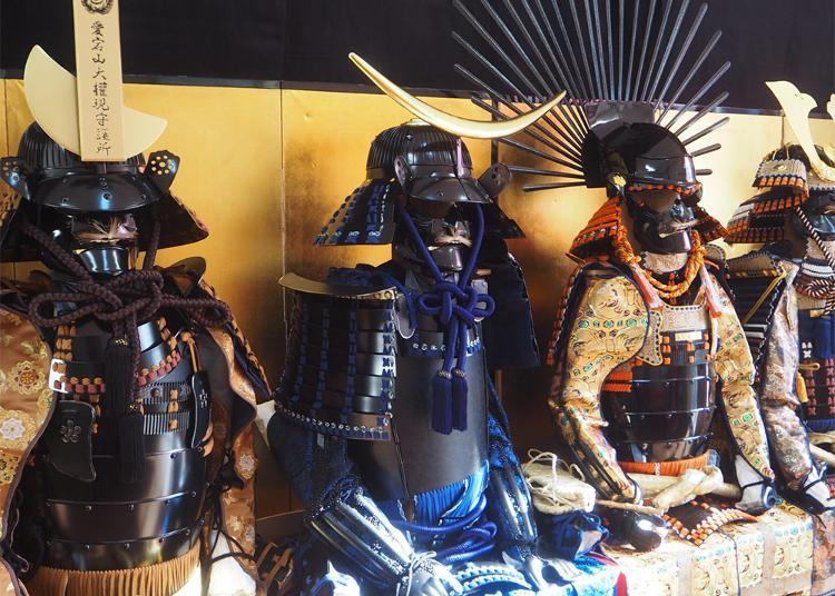 第5名:淺草盔甲體驗 Samurai愛
