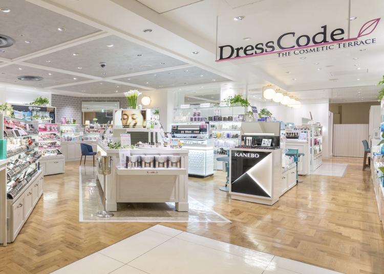 第1名:The Cosmetic Terrace DressCode Lumine Shinjuku branch