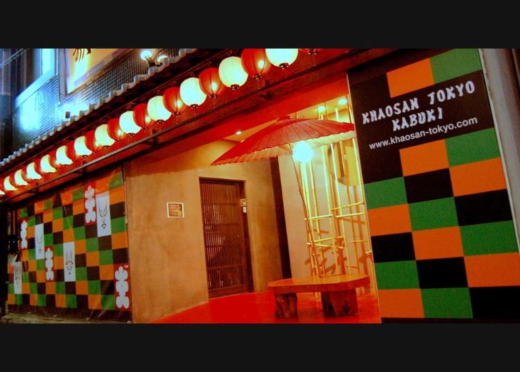 6. Khaosan Tokyo Kabuki