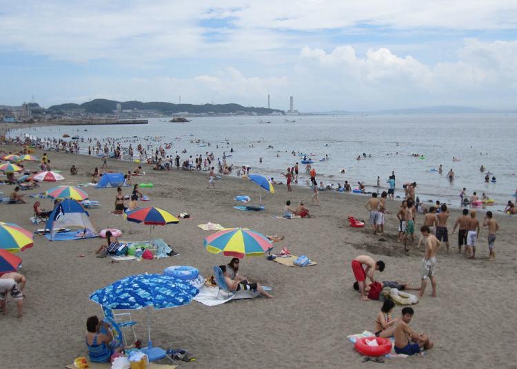 1. Miura Kaigan Beach