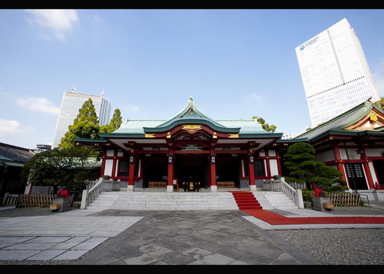 2. Hie Shrine