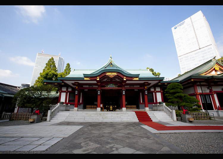 2. Hie Shrine