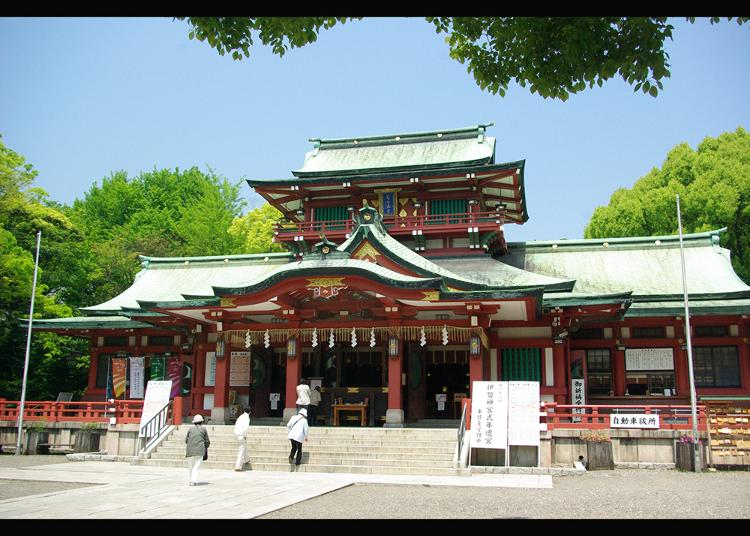 3. Tomioka Hachiman Shrine