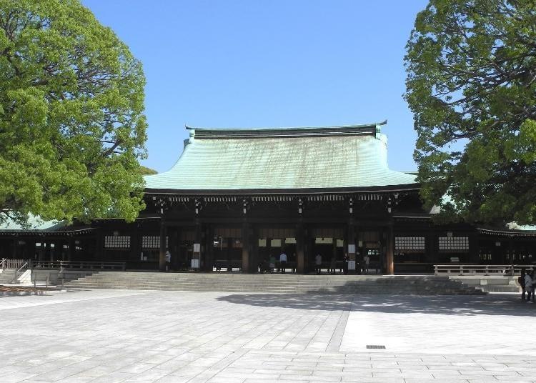6위. Meiji Jingu