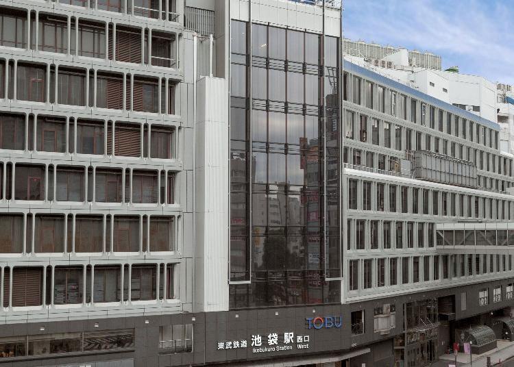 1.Tobu Department Store Ikebukuro