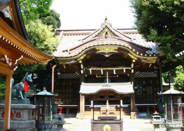 4위. 도요카와 이나리 절 도쿄 별원
