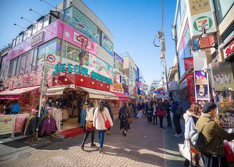 原宿で外国人観光客に人気のスポットは? 2019年9月ランキング