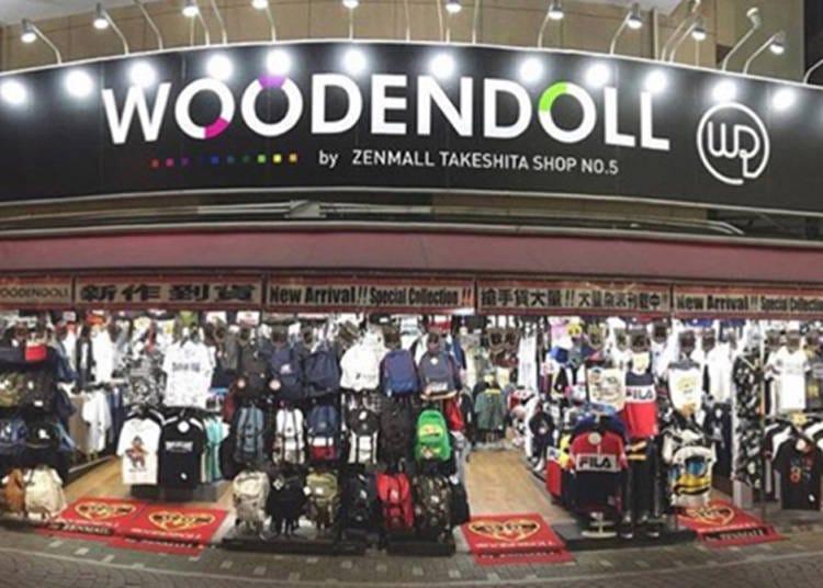 第8位:WOODENDOLL 竹下通り店
