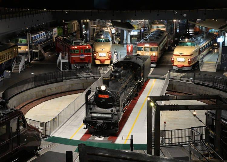 第4位:鉄道博物館