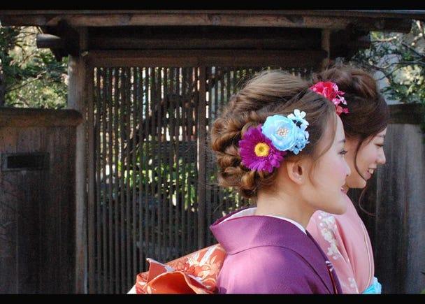 10.Kimono rental shop - Imakoji
