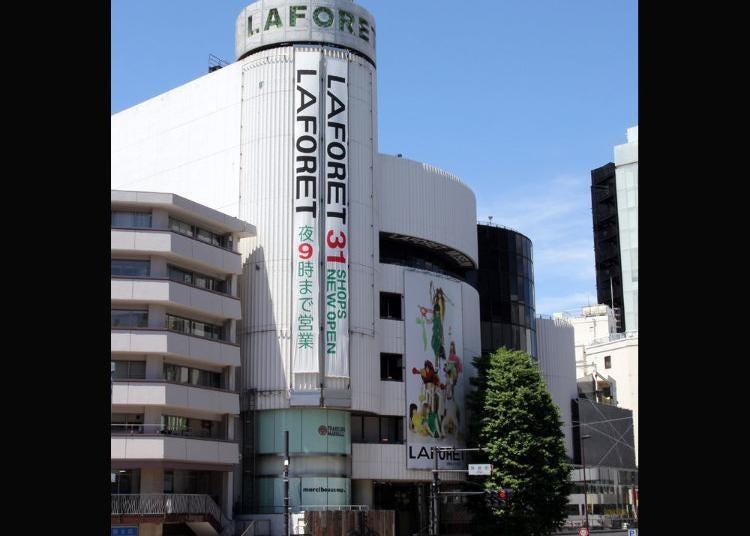 第8位:ラフォーレ原宿