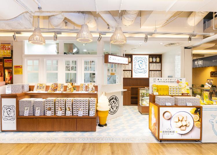 4위. Tokyo Milk Cheese Factory Lumine Shinjuku Store
