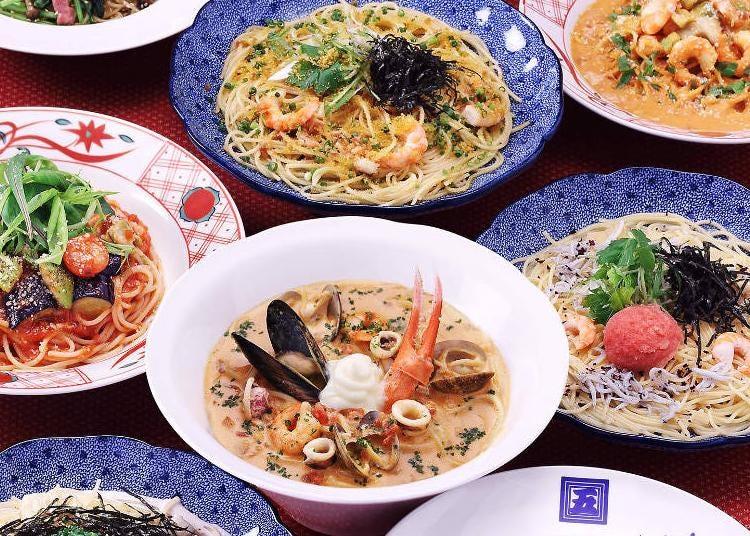 第2位:洋麺屋 五右衛門 成田空港第1ターミナル店