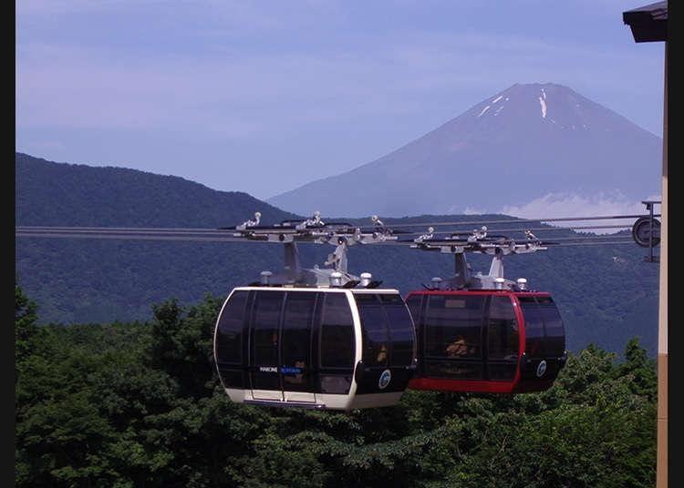 第1位:箱根 ロープウェイ