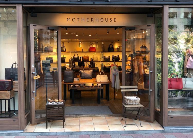 5.MOTHERHOUSE Higashi-ginza Store