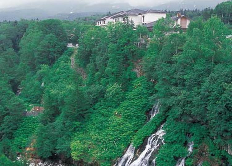 10.Shirahige Waterfalls