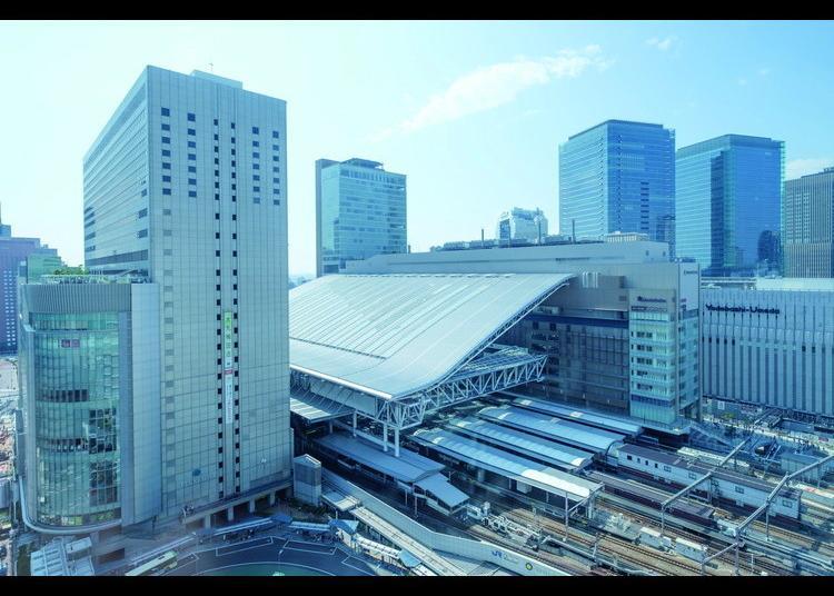 1위. OSAKA STATION CITY