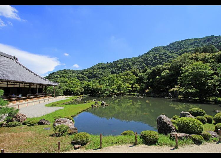 3.Tenryu-ji Temple