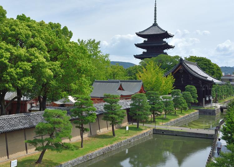 2.To-ji Temple
