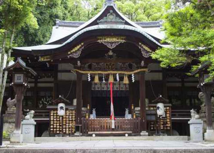6위. 히가시텐노 오카자키진자 신사