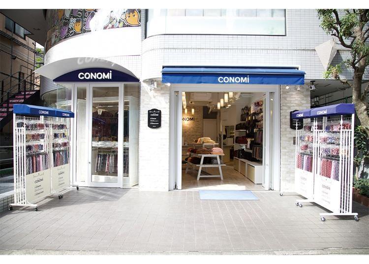 7.CONOMi Harajuku store