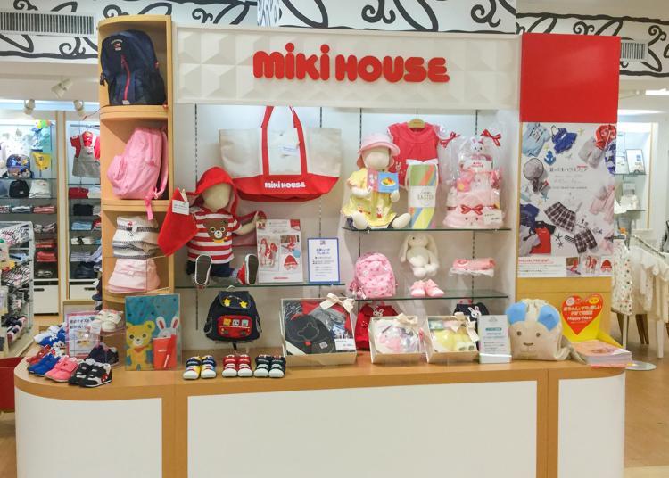 3.MIKI HOUSE Ikebukuro Seibu store