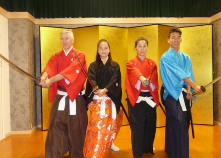 7.Tokyo Samurai Kembu - Samurai Culture Experience