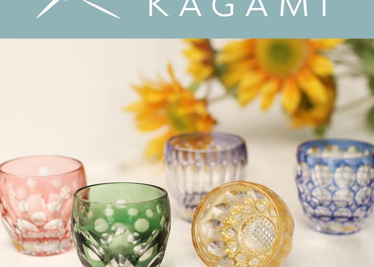 2.Kagami Crystal shop in Ginza