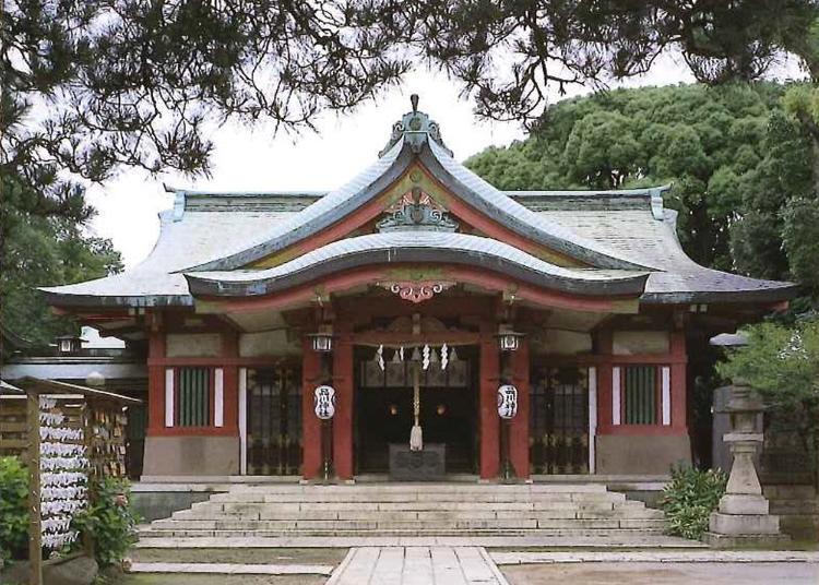 3.Shinagawa Shrine