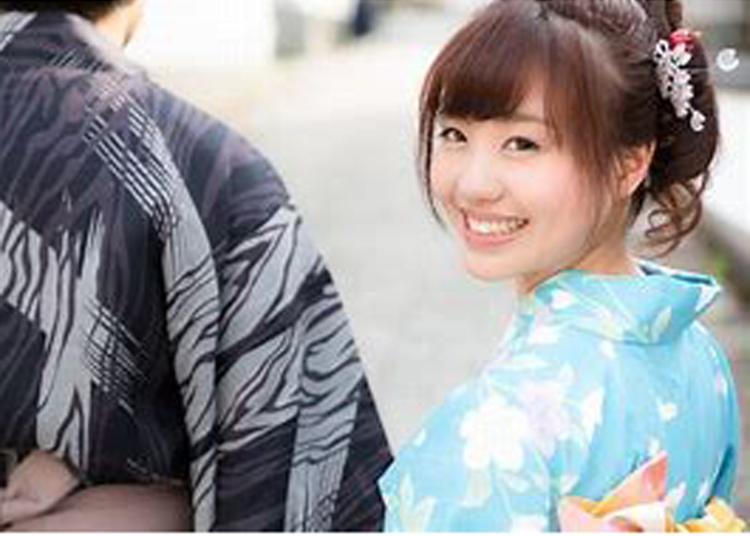 5.Asakusa Kimono Rental Once-in-a-lifetime Chance