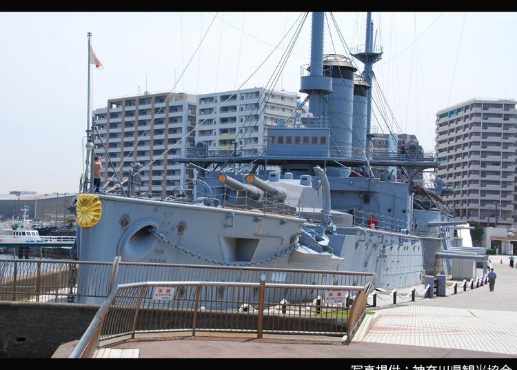 9.Memorial Ship Mikasa