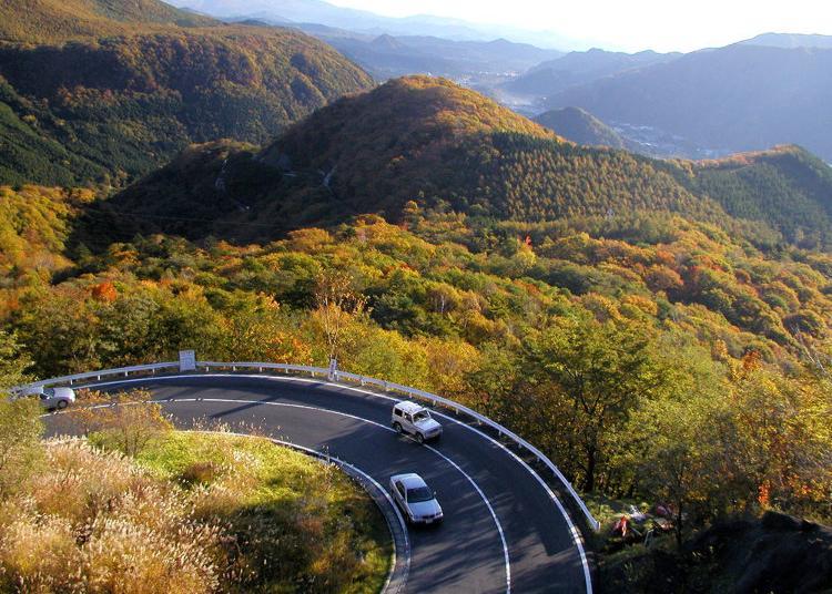 1.Irohazaka Route