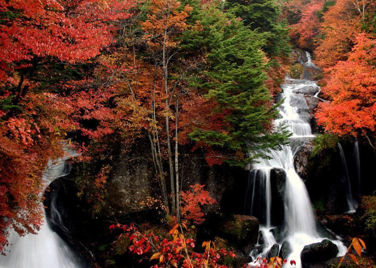 4.Ryuzu Falls