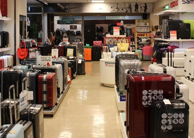 第1名:Travel luggage and accessories speciality shop -Toko Yuurakucho Store