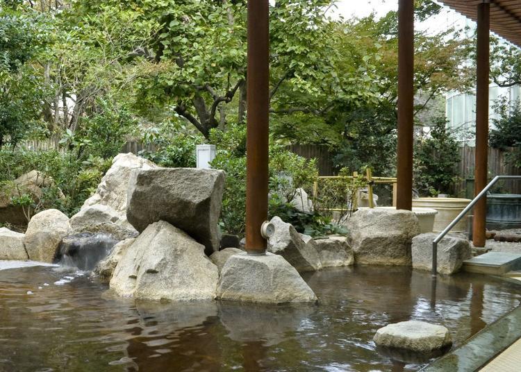 第6名:Toshimaen Niwa-no-Yu