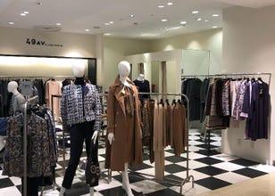 新宿×时尚专卖店 旅日外国游客热门设施排行榜 2020-1