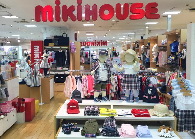 3위. MIKI HOUSE Shinjuku Odakyu store