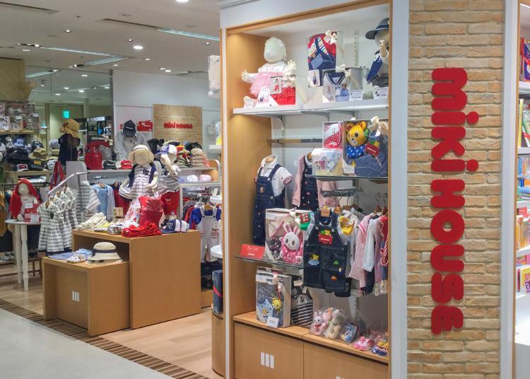 4위. MIKI HOUSE Shinjuku Takashimaya store