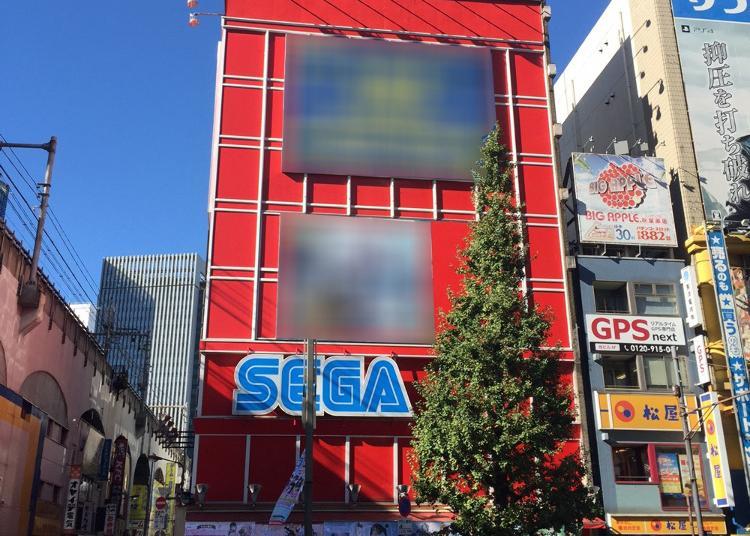 2위. SEGA  Akihabara  1st