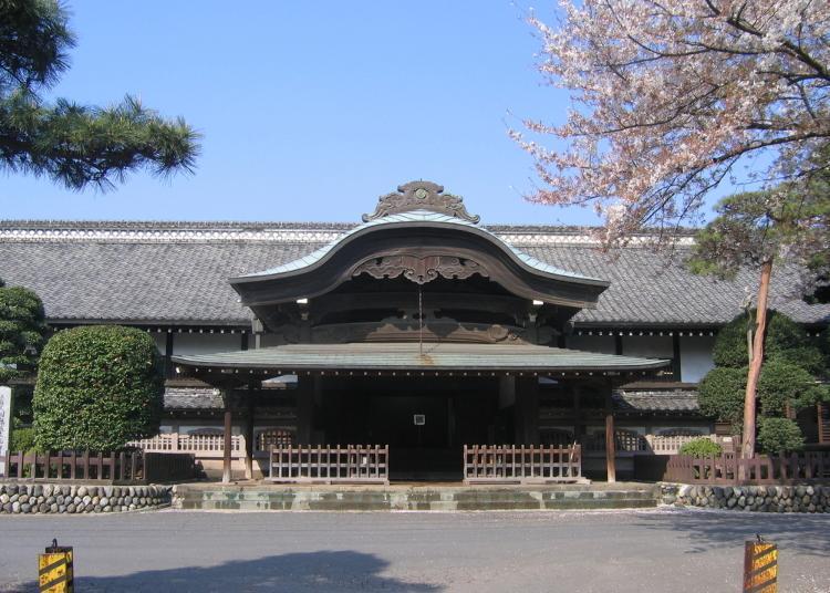 9위. 가와고에 성 혼마루 고텐