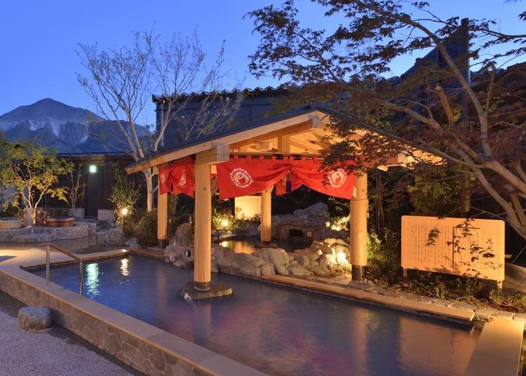 第3名:Matsuri No Yu Hot Springs area at Seibu-Chichibu Station