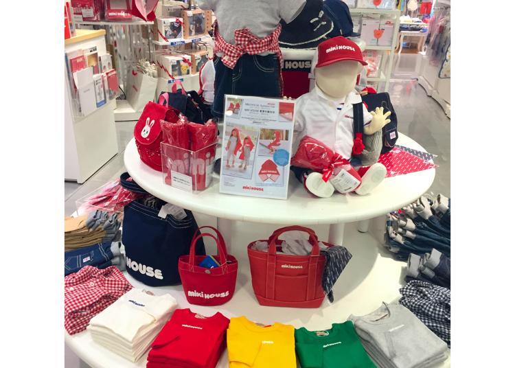 5위. MIKI HOUSE Shibuya Seibu store
