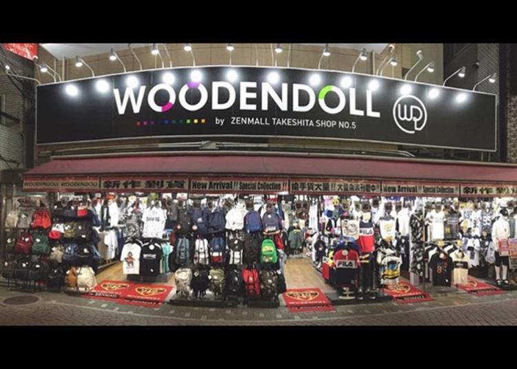 第3名:按照WOODEN DOLL竹下商店