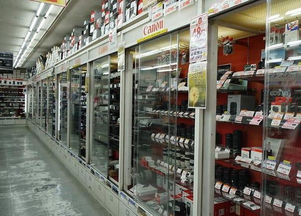 3위. Fujiya camera store