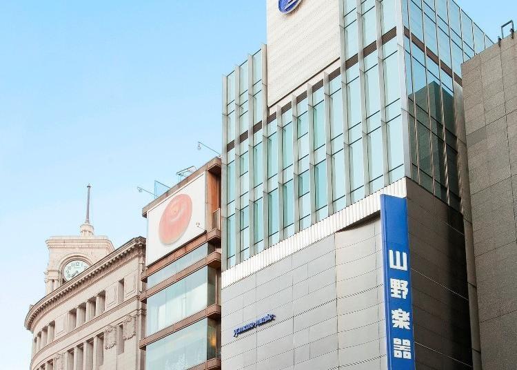 9.YAMANO MUSIC CO.,LTD. Ginza Main Shop