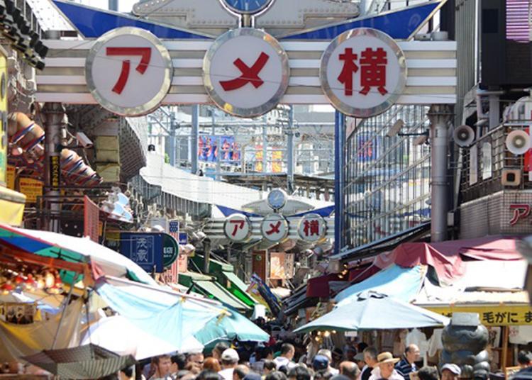 3.Ameyoko Shopping Street