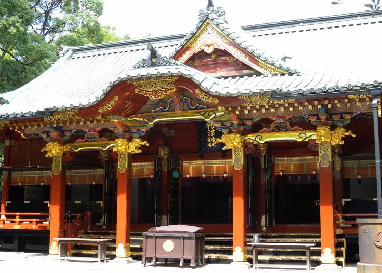 第2名:根津神社